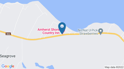 Amherst Shore Country Inn Map