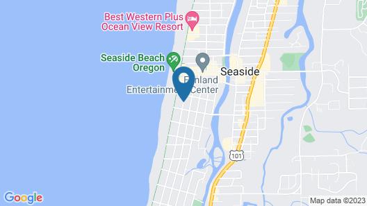 Hi-Tide Oceanfront Inn Map
