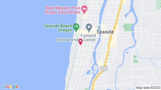 Seaside Oceanfront Inn Map