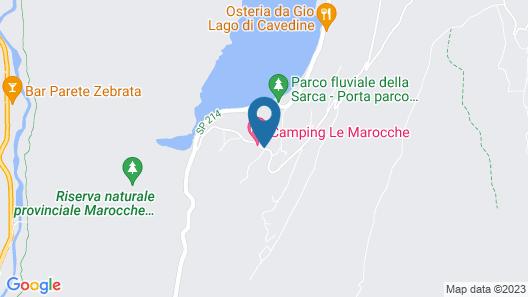 Camping Le Marocche Map