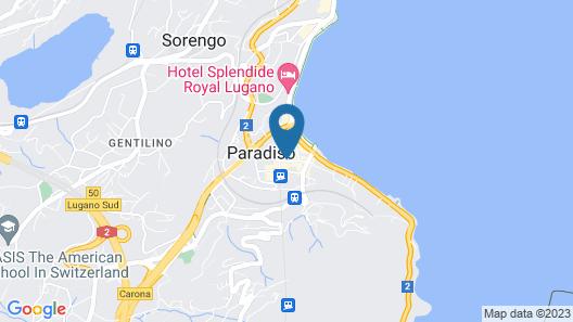 ibis budget Lugano Paradiso Map