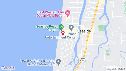 Inn at the Prom Map