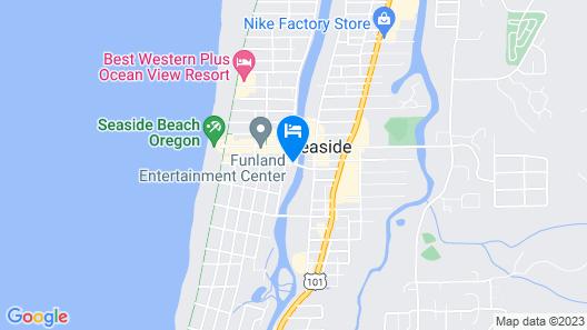 River Inn at Seaside Map