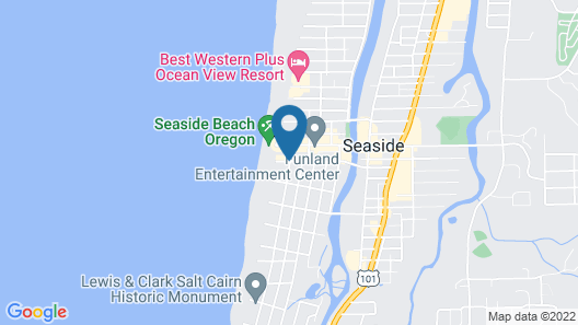 Resort at Seaside Map