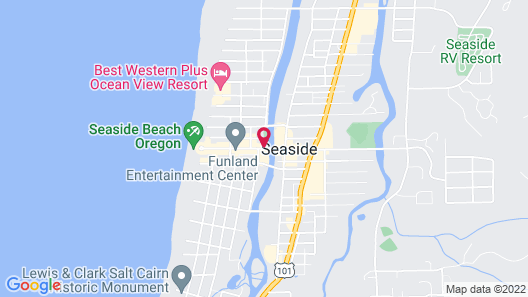 The Kathryn Riverfront Inn, Ascend Hotel Collection Map