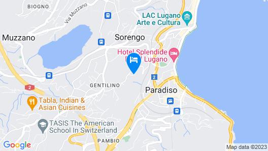 Park Hotel Principe Map