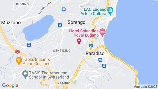 Villa Principe Leopoldo Map