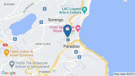 Hotel Delfino Map