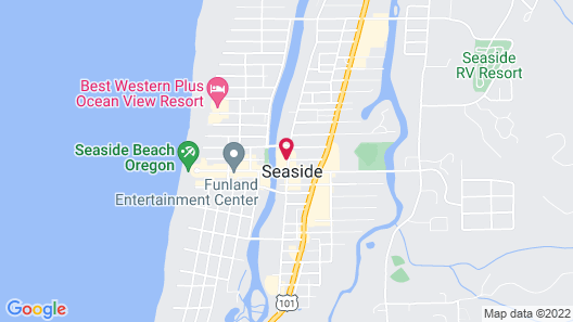 Holiday Inn Express Hotel & Suites Seaside-Convention Center, an IHG Hotel Map