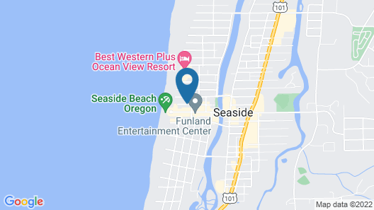 Ashore Hotel Map