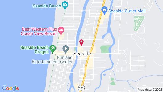 Rivertide Suites Hotel Map