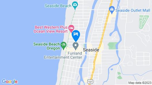 SaltLine Hotel Map