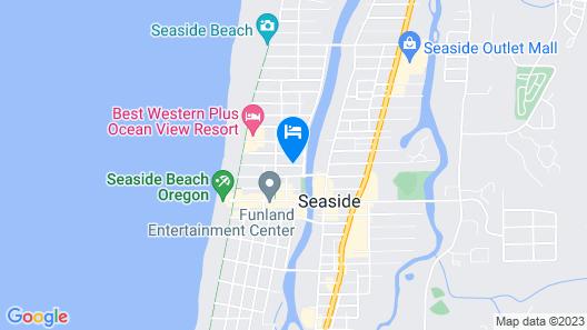 Inn At Seaside Map