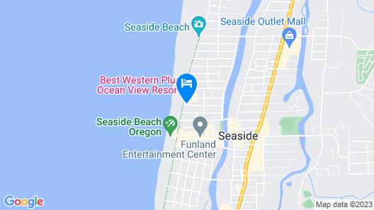 Ebb Tide Oceanfront Inn Map