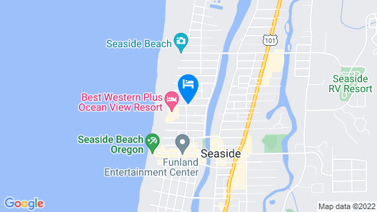 Beachside Inn Map