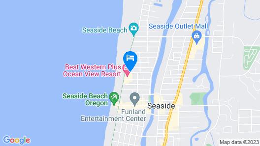 Best Western Plus Ocean View Resort Map