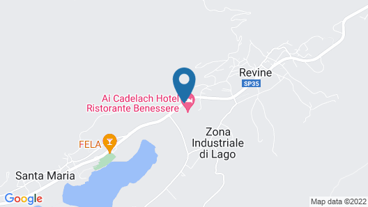 Ai Cadelach Hotel Giulia Map