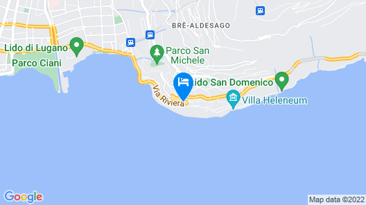 Hotel Firenze Lugano Map