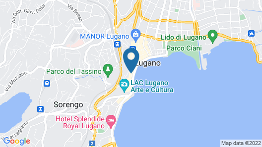 San Carlo Suite Map