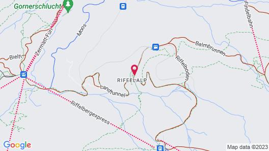 Riffelalp Resort 2222m Map