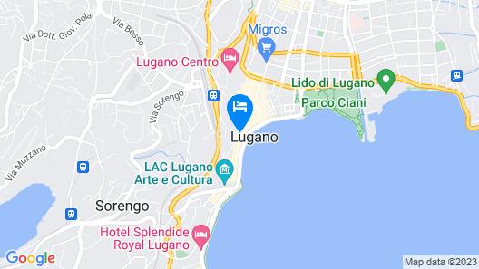 Hotel San Carlo Map