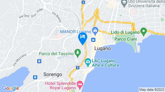 Hotel & Hostel Montarina Map