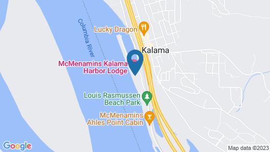 McMenamins Kalama Harbor Lodge Map