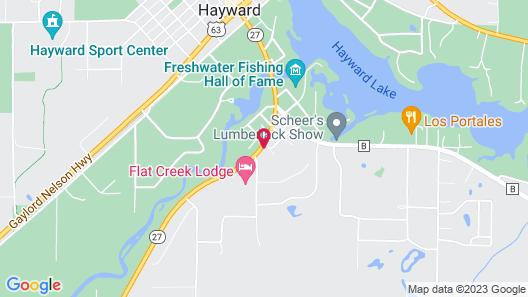 Flat Creek Lodge Map