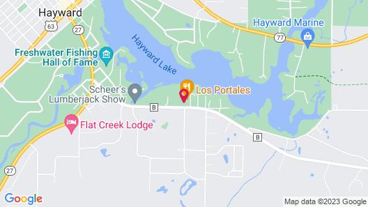 Holiday Inn Express & Suites Hayward Map