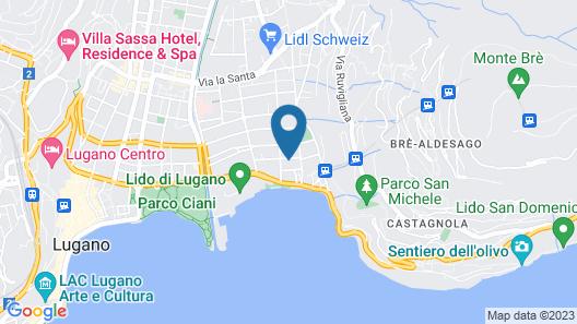 Hotel Atlantico Map