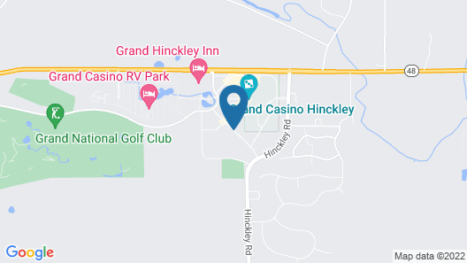 Grand Casino Hinckley Map