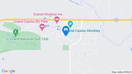 Grand Casino Hinckley Map
