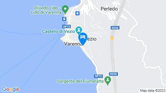 Villa Monti Map