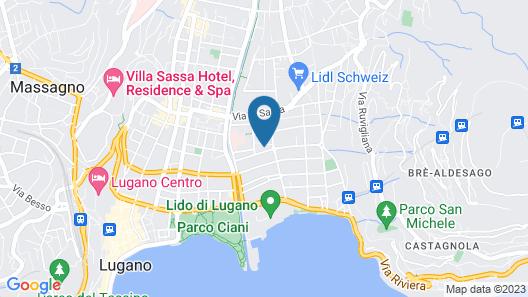 Prestige Du Lac Apartments Map