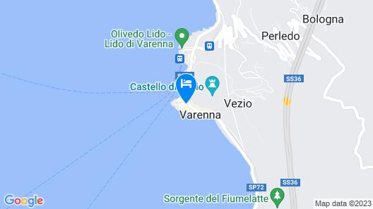 Casa San Giorgio Map