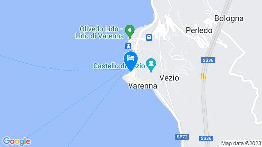 Casa Riva on the Lakeshore Map