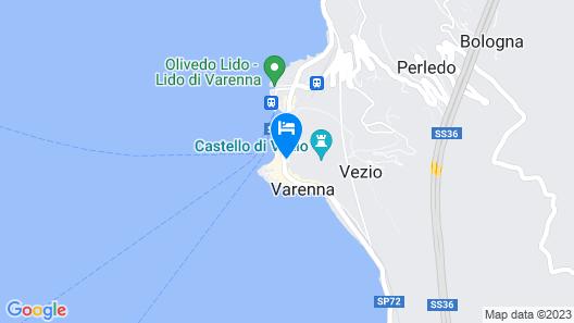 Little Nest Flat Varenna Map