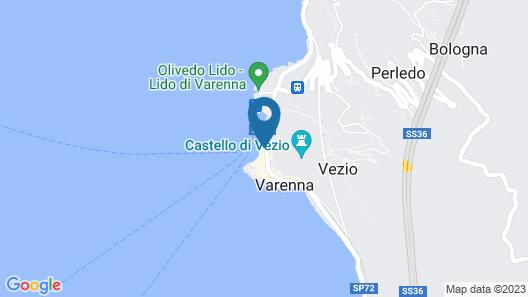 Albergo Milano Hotel & Apartments Map
