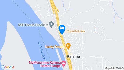 OYO Hotel Kalama Map