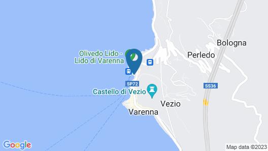 Hotel Olivedo Map