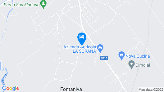 Borgo Vittorio, Ortensia Map