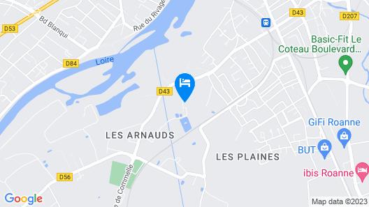 LA FERME AUX BICHES Map