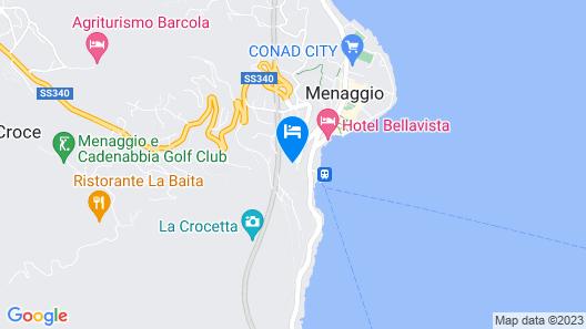 Grand Hotel Menaggio Map