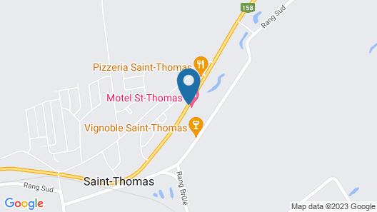 Motel St-Thomas Map