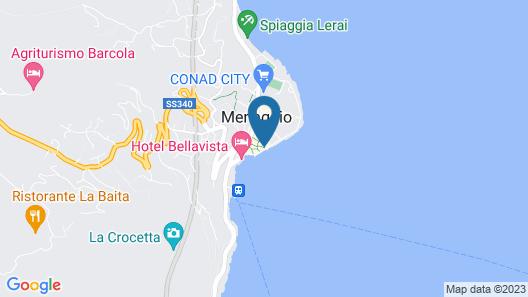 Hotel Garni Corona Map