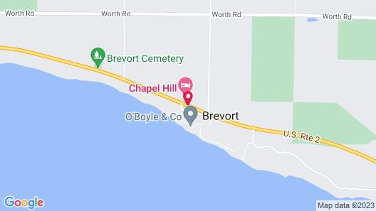 Chapel Hill Motel Map