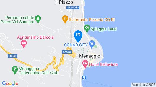 Hotel Loveno Map
