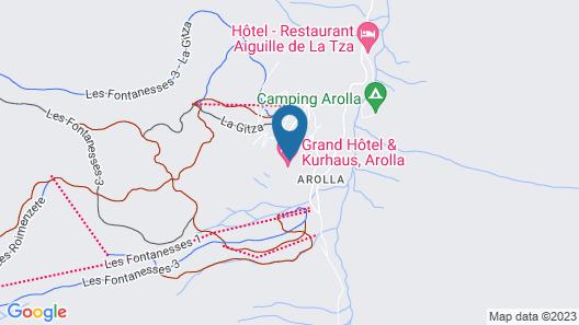 Grand Hotel & Kurhaus Map