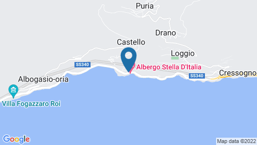 Hotel Stella D'Italia Map