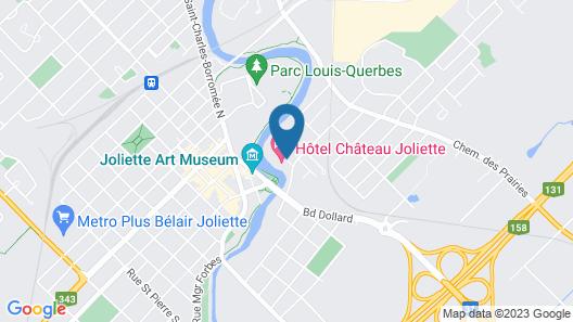 Hôtel Château Joliette Map